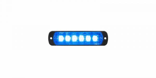 L52 Lampa Blå Horisontell