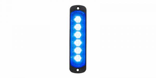 L52 Lampa Blå Vertikal