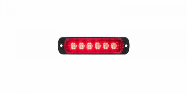L52 Lampa Röd Horisontell